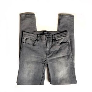 Hudson nico super skinny gray ankle jeans